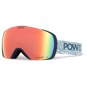 Giro Contact Snow Goggles protect our winters w vivid royal/infrared